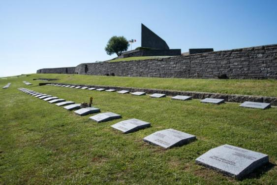 Cimitero tedesco della Futa le lapidi