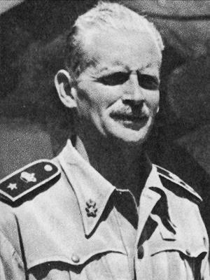 Il Capitano di Corvetta Giuseppe Cigala Fulgosi