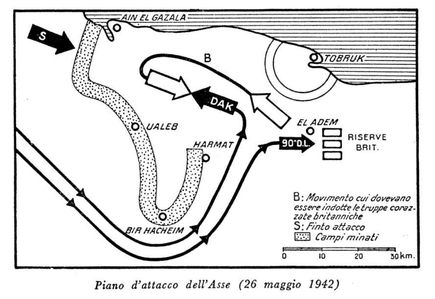 Piano attacco dell'Asse 26 maggio