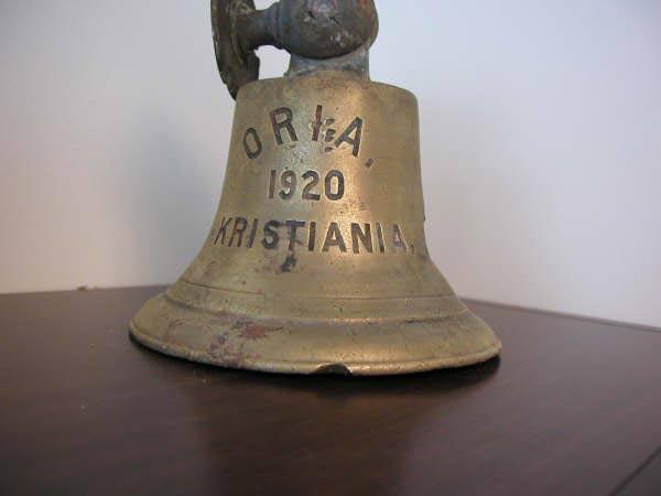 Una campana della Oria
