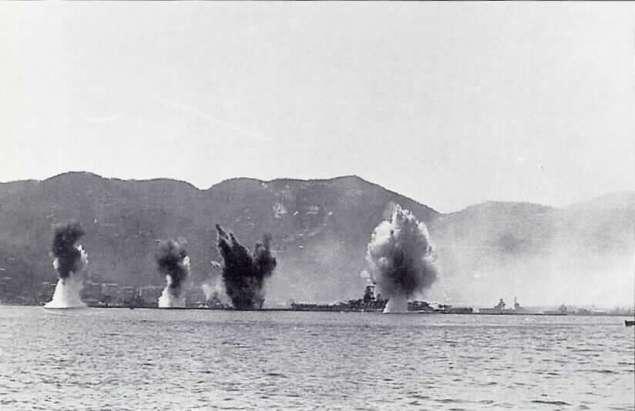 Bombardamento porto di La Spezia 5 giugno 1943 foto 1
