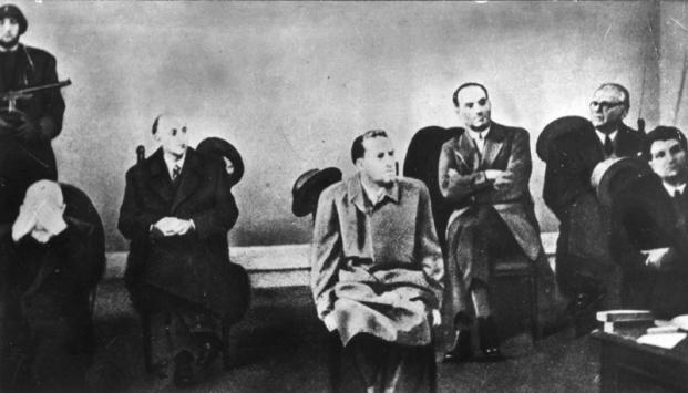 Galeazzo Ciano al processo di Verona