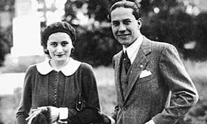 Galeazzo Ciano e Edda Mussolini