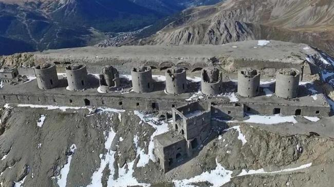 Il forte dello Chaberton oggi
