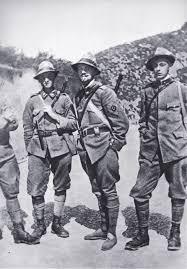 Il Tenente Italo Balbo, Comandante del Reparto Arditi del Battaglione Pieve di Cadore, 7º Reggimento Alpini
