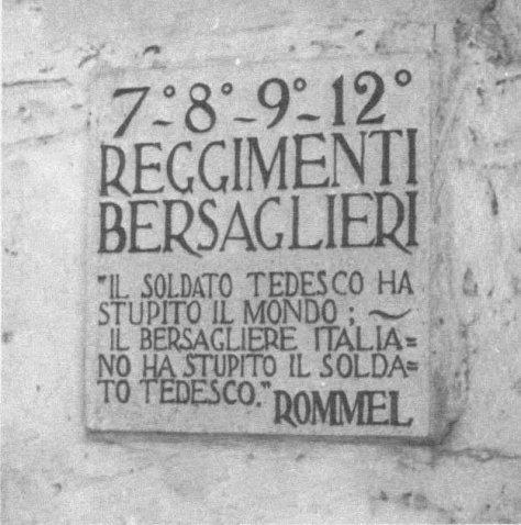 Targa frase Rommel Sui Bersaglieri.jpg