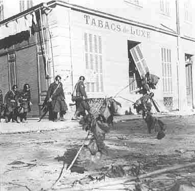 Truppe italiane occupano Mentone