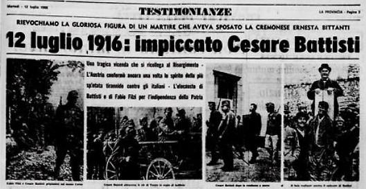 Cesare Battisti il giornale del 12 luglio 1916.jpg