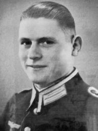 Il capitano Kurt Christian von Loeben comandante tedesco a Monchio