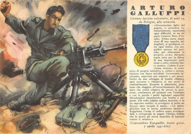 Arturo Galluppi Medaglia d'oro 7 aprile 1941