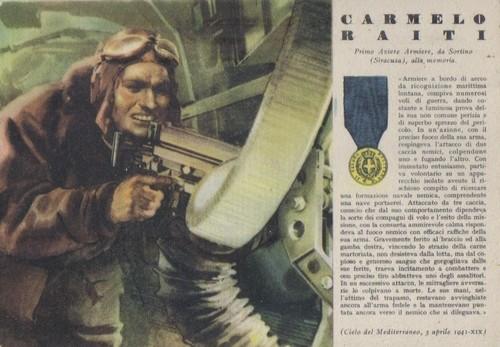 Medaglia d'Oro Carmelo Raiti 3 aprile 1941